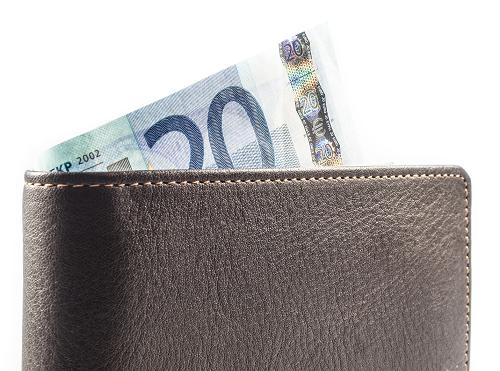biljet van twintig euro